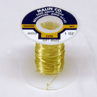 Picture of 22 Gauge Brass Wire