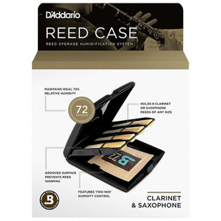 D'Addario single reed humidity controlled reed case